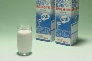 <b>「野辺山高原より新鮮な牛乳をお届けします」</b><br />八ヶ岳山麓の東側に広がる野辺山高原。「ああ、こんなところで育った農産物はさぞかしおいしいだろう &#8230;