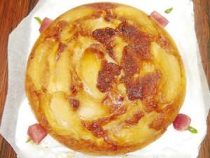 焼きリンゴケーキ