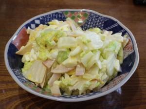 ハクサイのサラダ